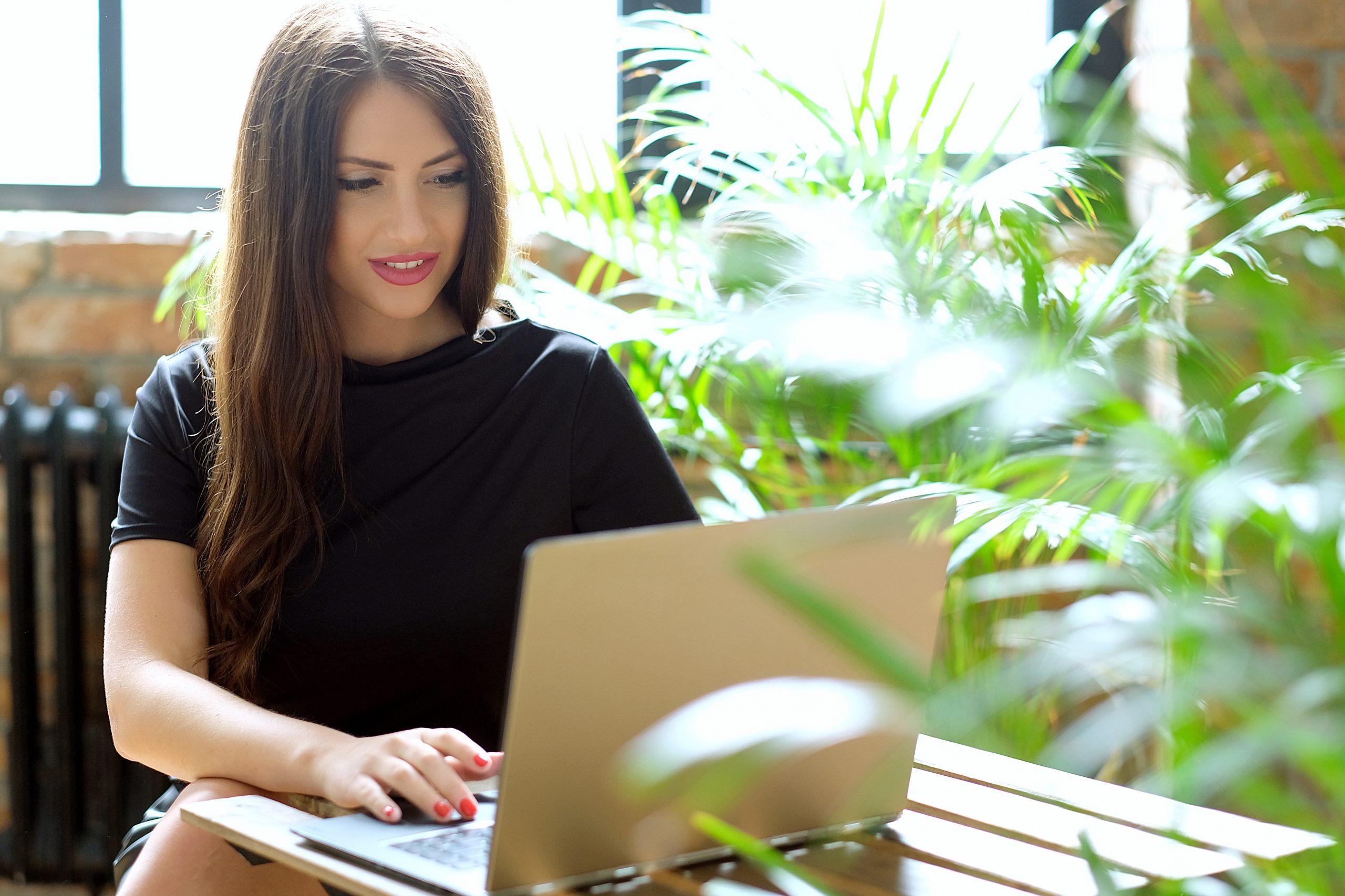Beautiful woman laptop mail order bride Pricing